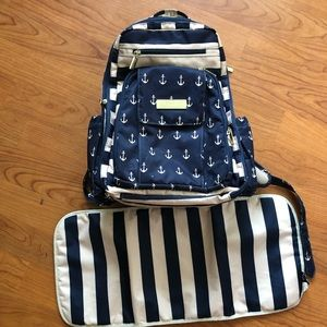 Jujube Be Right Back Diaper Backpack bag
